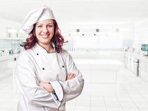 Woman chef Stock Photos