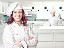 Woman chef Royalty Free Stock Image
