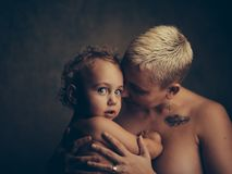 Woman and Child Stock Image