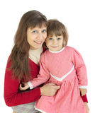 The woman with the child Stock Photography