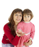 The woman with the child Stock Photos
