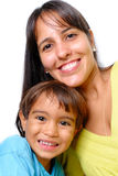 Woman and Child Royalty Free Stock Photography