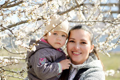 Woman with child Royalty Free Stock Photos