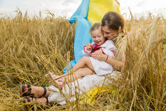 Woman with child Stock Photography