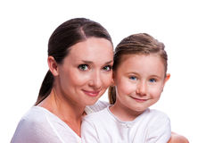 The woman with the child Royalty Free Stock Photo