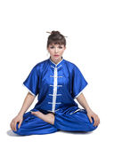Woman in chinese clothes Stock Photography