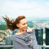 Woman in city Royalty Free Stock Images