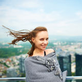 Woman in city Stock Photography