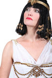 Woman in Cleopatra costume royalty free stock photo