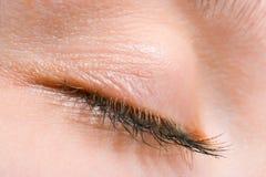 Free Woman Close-up Eye Eyelashes Stock Images - 2506654