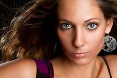 Woman Closeup Stock Image