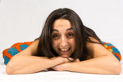 Woman closeup Royalty Free Stock Photography