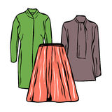 Woman clothes Royalty Free Stock Photography