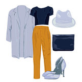 Woman clothes Stock Images