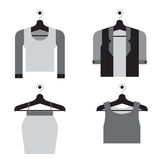 Woman Clothes On Hanger Royalty Free Stock Photography