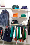 Woman clothes shop Royalty Free Stock Photo