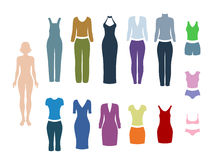 Woman clothing Stock Images