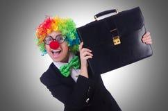 Woman clown businesswoman  Stock Photo