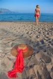 Woman&coast-143 image stock