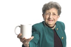 Woman with coffee tea Stock Photo
