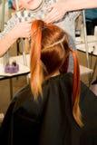 Woman coiffure Stock Photo