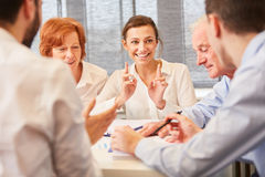 Business team in consulting meeting royalty free stock images
