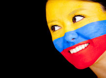 Woman from Colombia Royalty Free Stock Photos