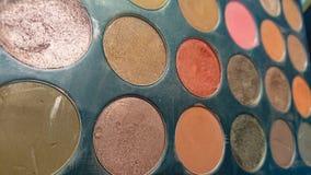 Woman& x27; colori di trucco di s immagini stock libere da diritti