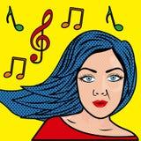 Woman comics Stock Images