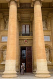 Entrance to Mosta Dome cathedral of Malta Royalty Free Stock Photo