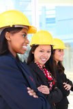 Woman Construction Team Stock Images