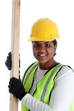 Woman Construction Worker Stock Images