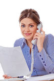 Woman consultant Stock Image