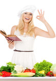 Woman cook Royalty Free Stock Photo