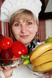 Woman cook Royalty Free Stock Photography