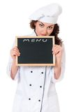 Woman cook Stock Photography