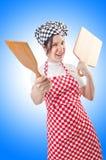 Woman cook Royalty Free Stock Photos