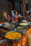 Woman cooking lunch in  Siem Reap Royalty Free Stock Image