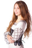Woman in corset Royalty Free Stock Photos
