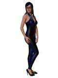 Woman in corset Stock Photos