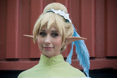 Woman with cosplay costume at cosplay exhibition event Stock Image