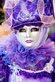 A woman in costume. At the Venice Carnival (8 Stock Image