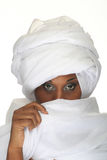 Woman covering face Stock Photos