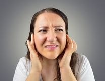Disturbed By Noise Stock Photos