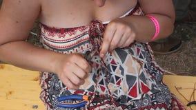 Woman craftsman Royalty Free Stock Image
