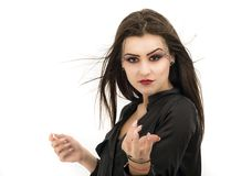Woman with creative makeup. Beauty. Halloween Stock Photography