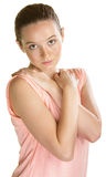 Woman with Crossed Arms Stock Photography