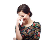 Woman crying Stock Photography