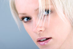 Beautiful woman with blond hair Royalty Free Stock Images