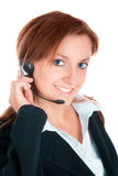 Woman customer service Stock Photo